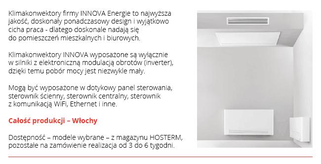 Płaskie KLIMAKONWEKTORY - Doskonałe do Pomp Ciepła
