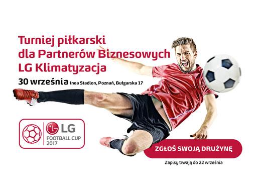 Rusza druga edycja turnieju LG Football CUP. Zgłoś swoją drużynę